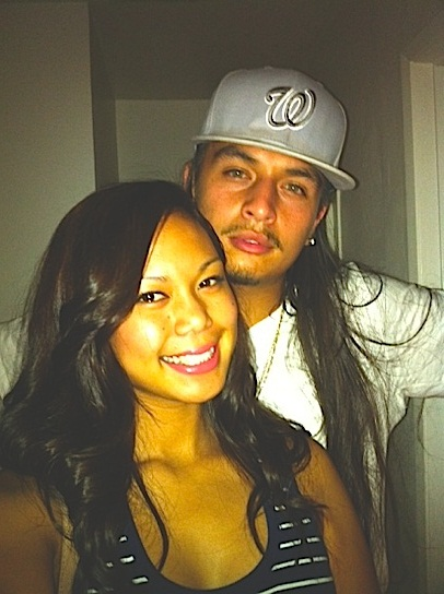 Latino guy and Cambodian girl couple