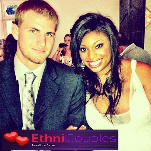 Black girl white guy highschool sweethearts.
