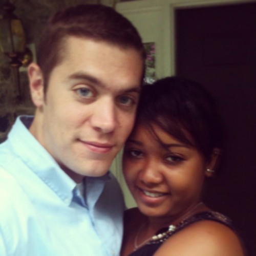 Malagasy girl and White guy