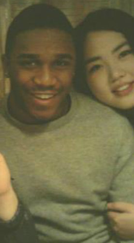 Korean girlfriend Black boyfriend