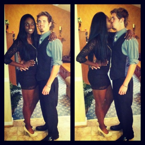White Boyfriend and Black girlfriend