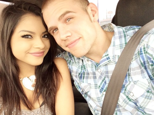 Mexican wife and white husband