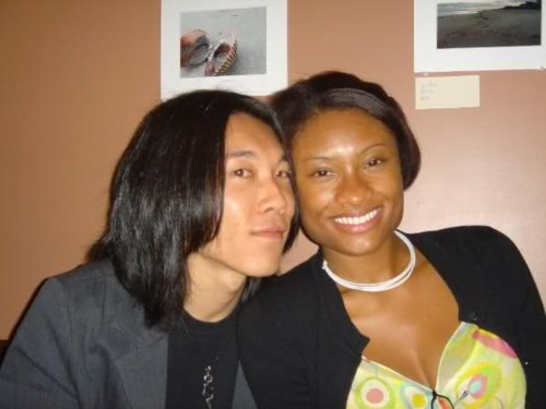 asian guy and black girl