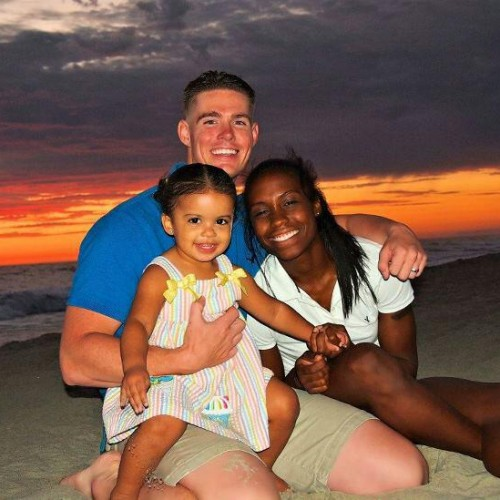 Nicole, Michael, and our daughter Jasmine