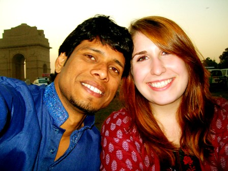 Indian guy and White girl couple