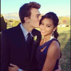 Spencer and Abby Half Black girl and white guy couple