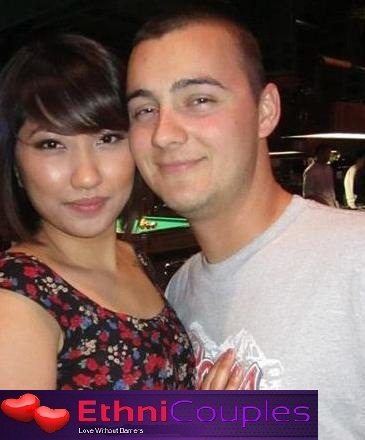 Viet girl and French guy