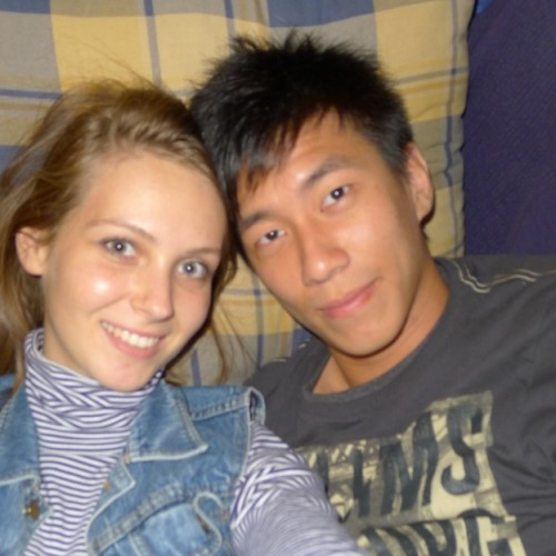 White girlfriend Asian Boyfriend